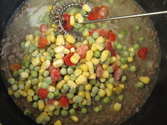 Veggies in sauce