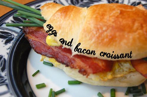 Eggs 'n' Bacon Croissant
