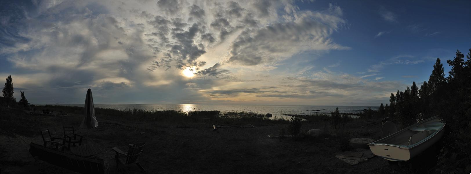 Lake Huron Pano 1