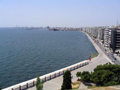 Κεντρική Μακεδονία - Θεσσαλονίκη - Η πόλη Θέα από το Λευκό Πύργο4