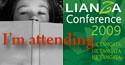I'm attending LIANZA Conference 2009