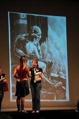 Katla piirustuskisan palkintosijoilla (Suviko) Tags: espoo suomi finland sunday ceremony convention 2009 ending ropecon pttjiset sunnuntai dipoli