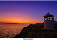 Light my way home (tolis*) Tags: lesvos molyvos mithimna eftalou beacon sunrise aegean sea tolis flioukas chios island greece summer vacations canon eos 50d tokina 1224f4