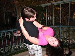 Goofing Around in the Bellagio