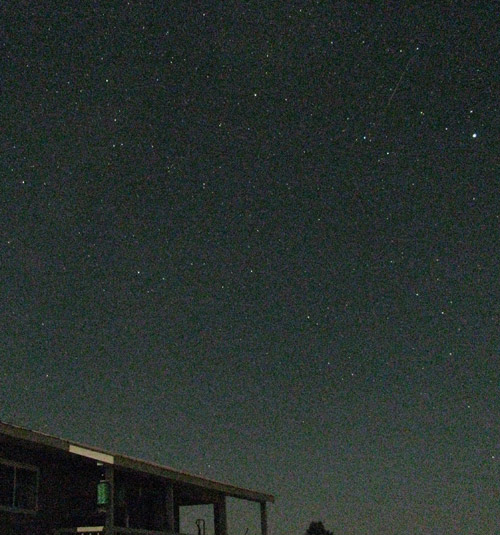 Perseids from Pagosa Springs, Colorado (09:40 UTC)