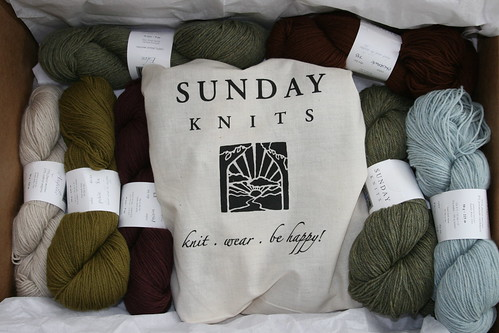 Luke Sage Colorway, Sunday Knits