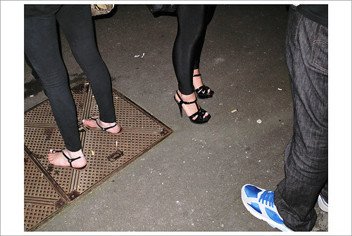Heels Thongs & Runners on the street