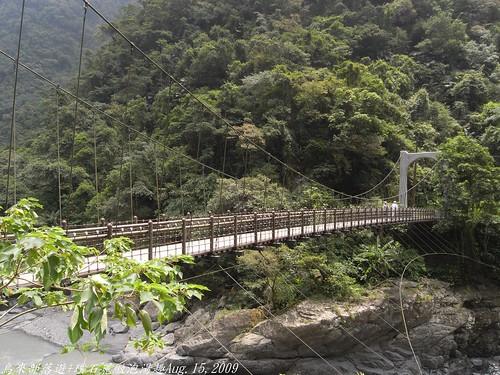 你拍攝的 28信賢吊橋。
