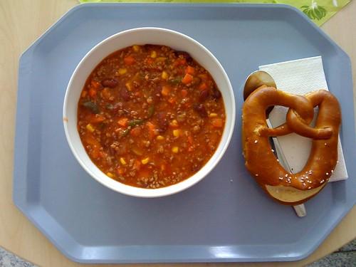 Chili con Carne & Bretzel