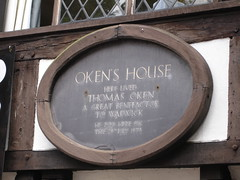 Photo of Thomas Oken grey plaque