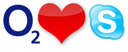 O2 loves Skype?