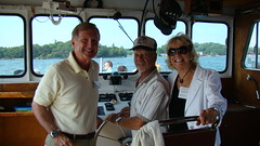 Bob Runciman and Sea Dog Captain (Kerri Tapp) Tags: brockville stlawrenceriver brockvilleontario bobrunciman