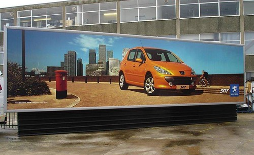PVC Banner Frame - Outdoor - Car - Print C3imaging