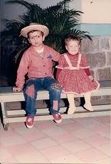 Festa Junina com a irmã
