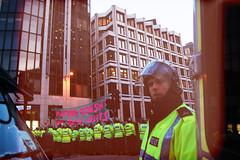 G20 Protests (Siân Herbert) Tags: city uk urban streets london protest citylife 2009 cityoflondon inequality ldn g20 bailout iantomlinson naturedoesntdobailouts g20protestlondon2009