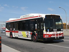 TTC 1636 (F. Poon) Tags: new toronto ontario canada bus ttc transit orion hybrid vii orionvii