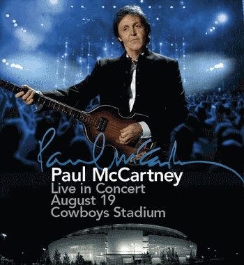Sir Paul at Cowboys Stadium