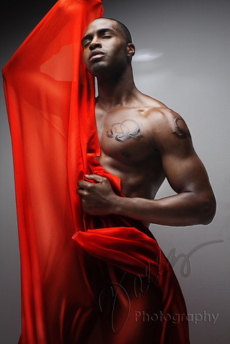 Model:  Rumando Kelley - The Orange Phoenix