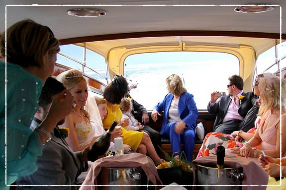 Boat trip with aperitif