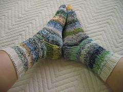seaweed socks(2009-08-29:finished)