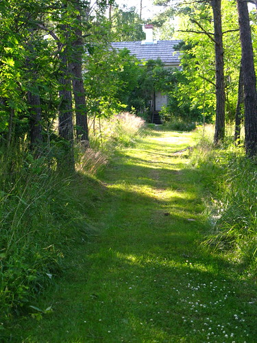 Path to the cottage