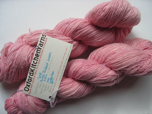 Oxford Kitchen Yarns Sock Yarn: Candy Floss