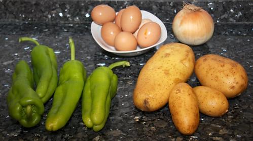 Tortilla de Patatas Ingredients