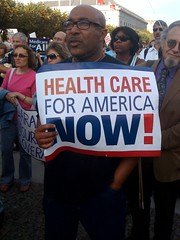Heath care for America Now! @barackobama rally...