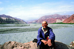 old man in ghez (gpacca) Tags: china uighur xinjiang karakorumhighway karakorum ghez