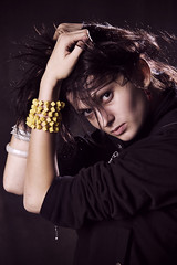 Ola (Norbert Dbkowski) Tags: light portrait color contrast hair nikon flash d70s norbert speedlight ola artificiallight offcamera offcameraflash strobist sb900