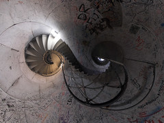 9 (HamburgerJung) Tags: panorama berlin stairs germany deutschland treppe planet siegessule peleng treppenhaus stereographic hugin goldelse nn3 k20d