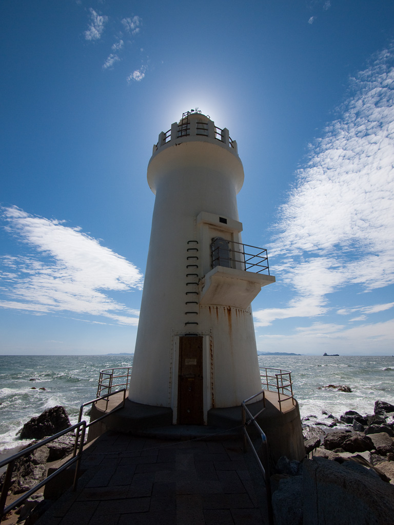 the lighthouse of Cape Irago-misaki