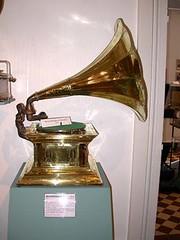 Tourne-disques03-Gramophone allemand de 19013 (Geher) Tags: france radio de son musée sound museums orgues yonne enregistrement barbarie cylindres tournedisques stfargeau limonaires magnétophones