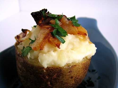 Twice Baked Potato Cups