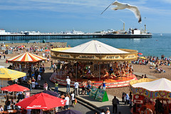Brighton (PhilippeD) Tags: beach pier brighton brightonbeach brightonpier polariser