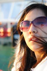 Nicky Isle of Wight (SarawuthWeddings) Tags: school light sunset portrait art nature face advertising ma design student model nikon management thai winchester isle wight