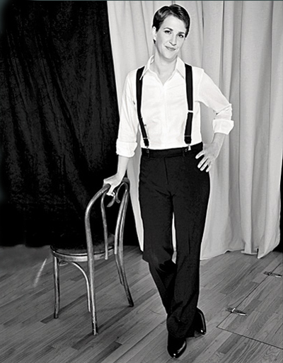 Rachel Maddow - Elle 2009