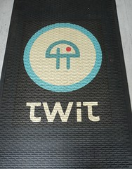 twit cottage welcome mat