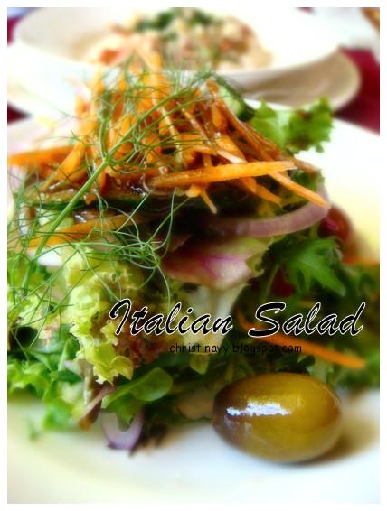 Angelo's House Restaurant Toowoomba: Italian Salad