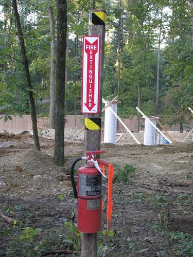 Fire safety at Wildebeest site