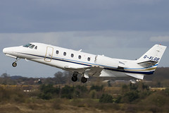 G-XLGB - Private - Cessna 560XL Citation Excel - Luton - 090309 - Steven Gray - IMG_0720