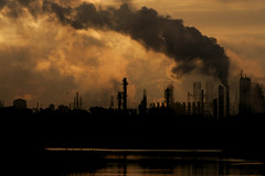 Exxon Sunrise (braniffelectra) Tags: sunrise texas baytown houston refinery exxon vigilantphotographersunite vpu2