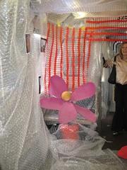 Bubble wrap installation, Salvo car