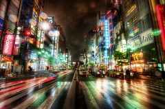 My Twitter and The City Streets of Tokyo (Stuck in Customs) Tags: street city travel people urban motion streets color reflection cars beauty rain japan night buildings photography japanese lights hotel tokyo high nikon october colorful asia downtown neon commerce fuji skyscrapers shot nightshot traffic dynamic stuck action outdoor district taxi burger scooter billboard r fujifilm salon roppongi nihonbashi intersection through top100 crosswalk range financial 2009 hdr ripping trey nihon chuo bashi customs docomo konami mariott ratcliff ch stuckincustoms d3x treyratcliff rcconception