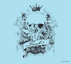 Tinker Bell (ChapmanCatalyst) Tags: illustration skull graphicdesign tinkerbell disney fairy tink trendy crown pixer chrischapman