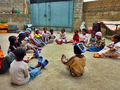 Time out at Mercy Home, Ethiopia