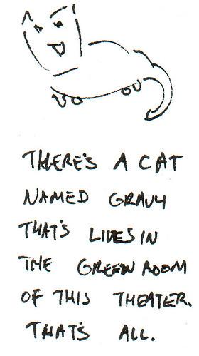 366 Cartoons - 256 - Cat Named Gravy