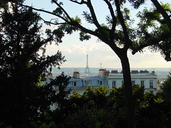 Eiffel Tower from Sacre Coeur