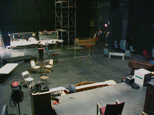 TNC - Johnson Theater with Rehearsal Set