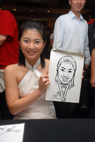 Caricature live sketching for Nera Telecommunications Ltd - 7